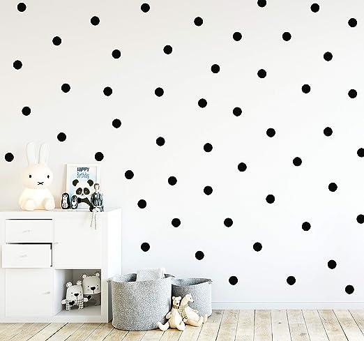 Dekoration 1x Wandaufkleber Wandtattoo Punkte Dots Kreise Kinderzimmer Schlafzimmer Dekor Mobel Wohnen Elin Pens Ac Id