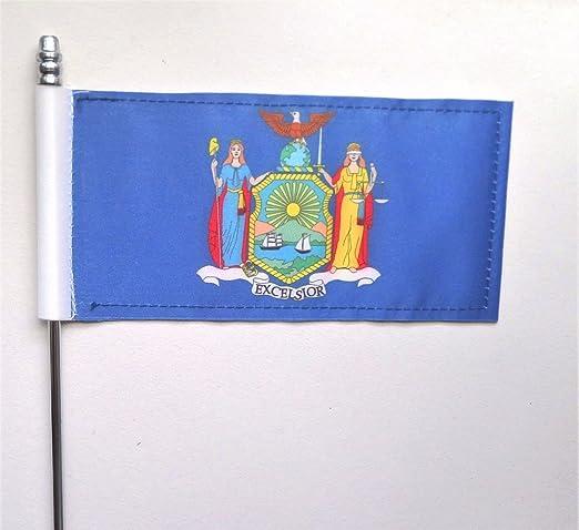Estado de Nueva York bandera de mesa de Estados Unidos de América ...