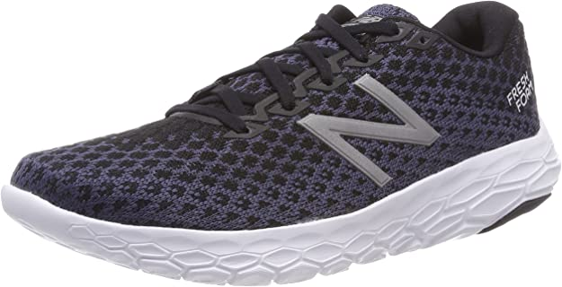 New Balance Men's Beacon V1 Fresh Foam Running Shoe, Black, 7 D US