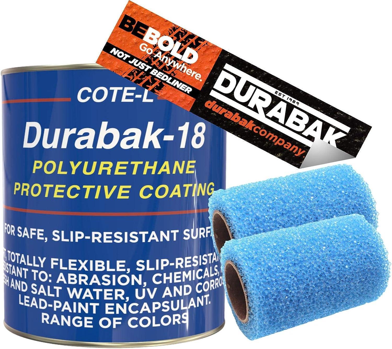 Durabak Light Gray Textured Roll-On Truck Bed Liner Kit