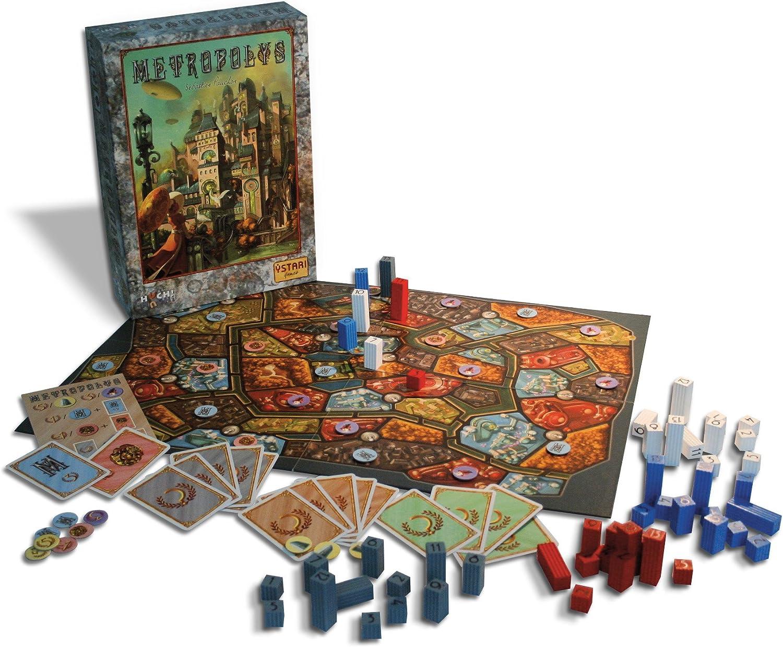 Ystari Games 75938 Metropolys - Juego de Mesa [Importado de Alemania]: Amazon.es: Juguetes y juegos