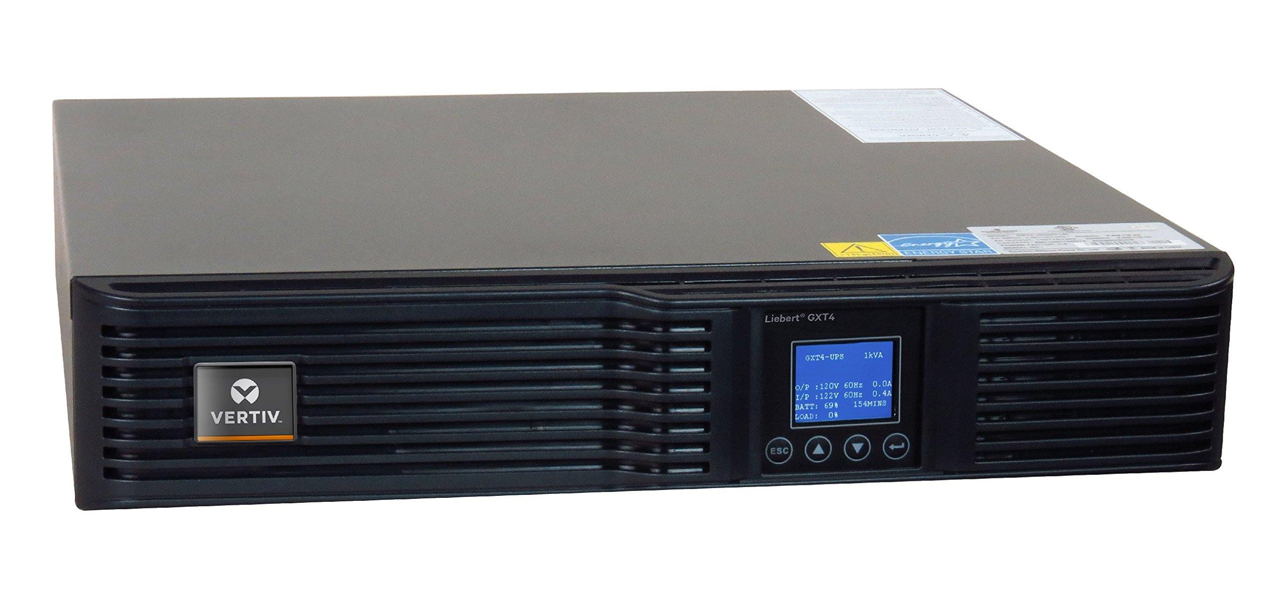 Vertiv Liebert GXT4, 700VA/630W, 120V On-line, Double-Conversion Rack/Tower Smart UPS (GXT4-700RT120)