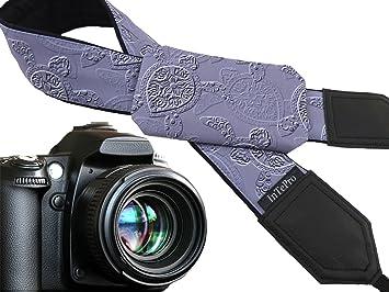 Correa de cámara de bolsillo Tortugas. Gray Blue - Cámara réflex ...