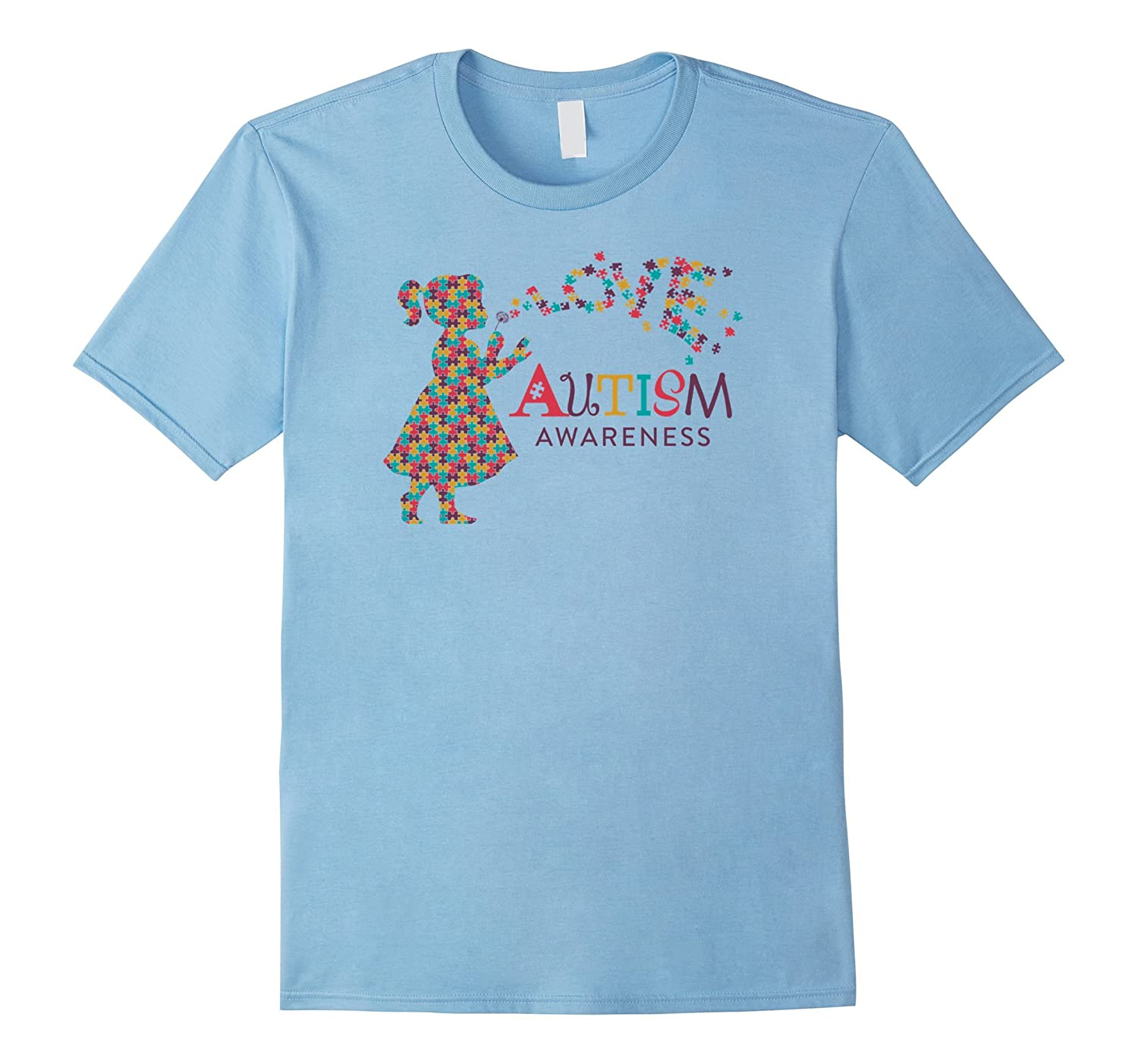 Autism Awareness Love T-Shirt For Moms Dads Or Kids-CD