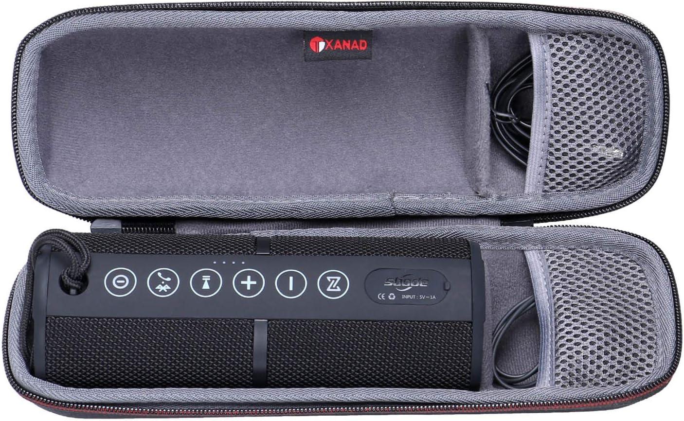 XANAD Storage Carrying Travel Hard Case for Sbode Bluetooth Speaker Grey Storage Protective Bag