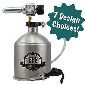 Personalizado grabado dispensador de cerveza torre artesanales de lunares perro empresa