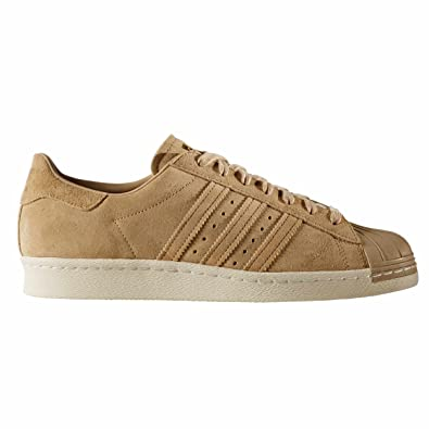 adidas Superstar 80 Damen Schuhe BB2227 KhakiGold Sneakers