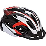 Hero in-Mould Adult Cycle Helmet, L (White/Red)