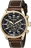 Citizen Chronograph Black Dial Men's Watch - CA4213-00E