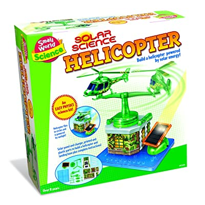 Small World Toys Science - Solar Helicopter Kit: Toys & Games
