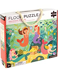 Petit Collage Floor Puzzle, Mermaid Friends, 24 Pieces