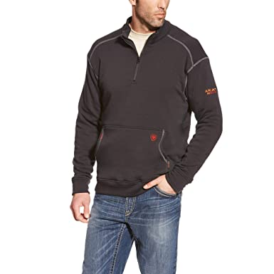 c7a2db2c11 ARIAT Men s Fr Polartec Fleece 1 4 Zip Top at Amazon Men s Clothing store