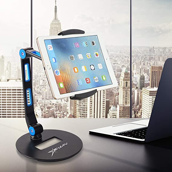 """Black 7/""""-10/"""" Foldable Tablet Phone Holder Stand Car Wall Mount For iPad Tablet"""