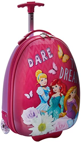 American Tourister Disney 16 Inch Upright Hard Side (One Size, Pink Princess)