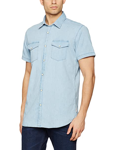 85cb4c4625 JACK   JONES Jorone Shirt SS Noos