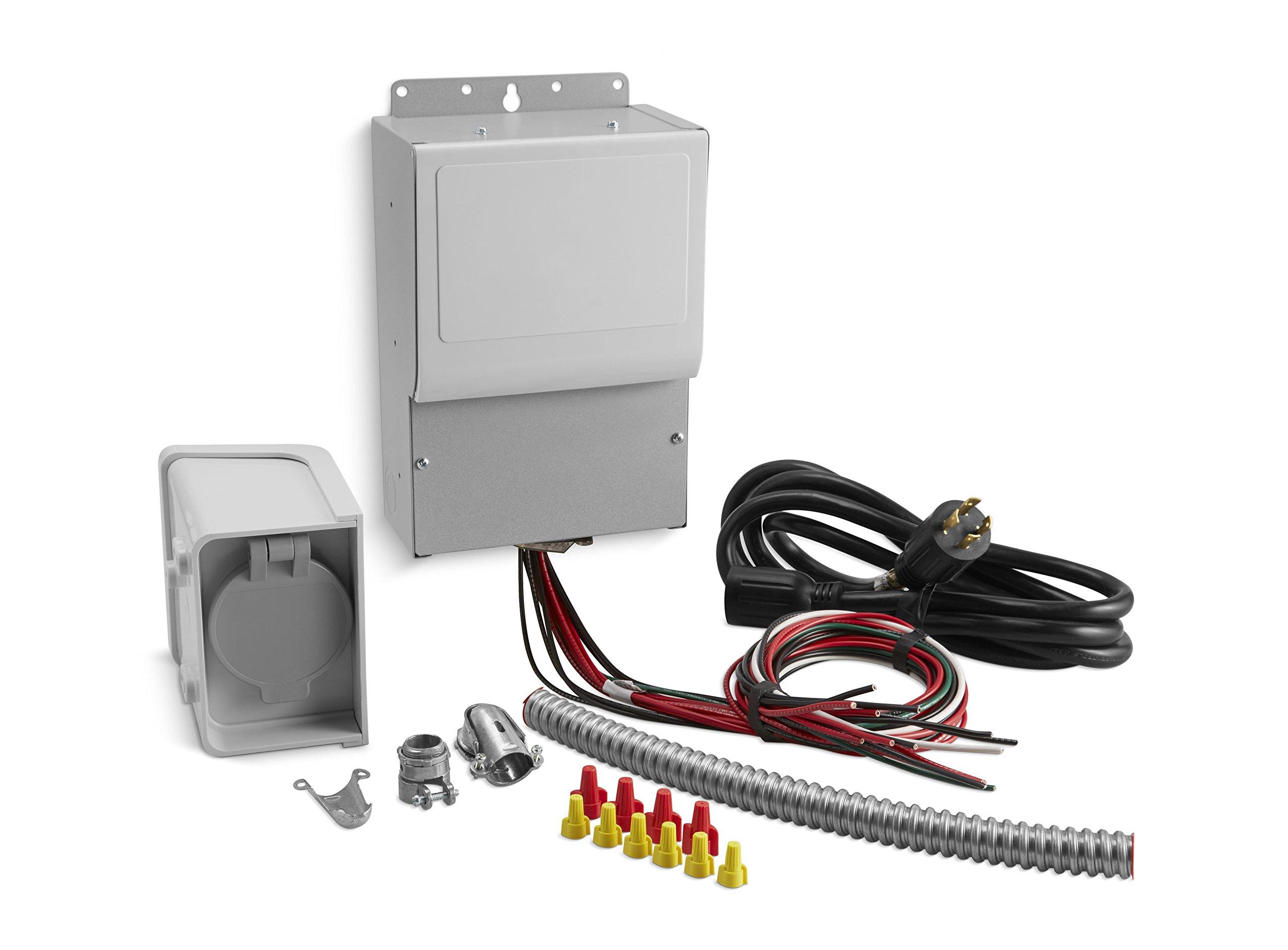 Kohler 37 755 06-S 6-Circuit Manual Transfer Switch Kit for Portable Generators by Kohler