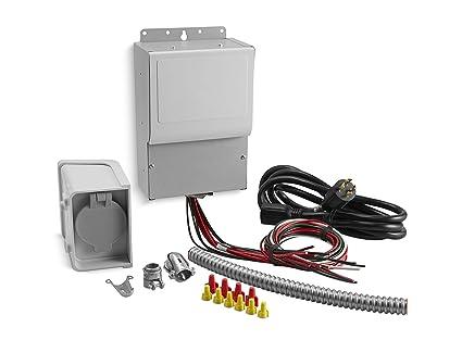 574e2ca2f2e9e Amazon.com: Kohler 37 755 06-S 6-Circuit Manual Transfer Switch Kit ...