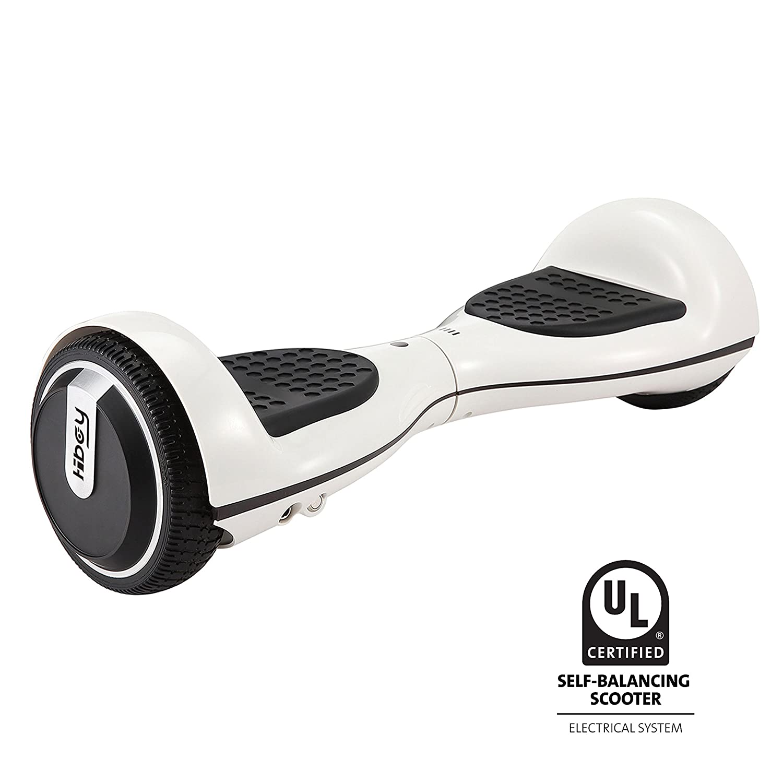 Hiboy - Elektro Scooter 250W mit UL2272 Zertifikat, 6.5 Räder bluetooth lautsprecher 3.5W 5 Räder 10 km/h - TW01 - Weiß Hboy