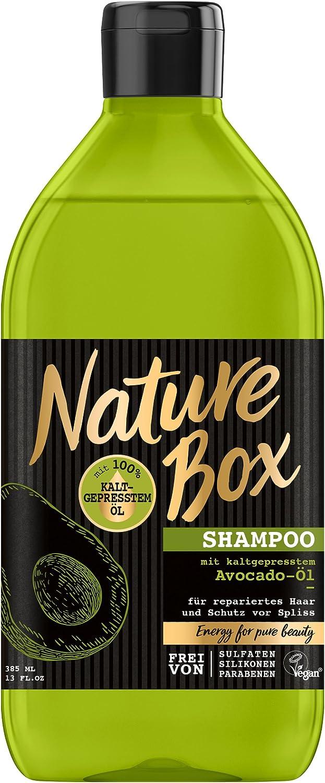 Nature Box Shampoo Avocado-Öl, 3er Pack (3 x 385 ml) NSAV1