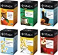 Stash Tea Soothing Herbal Tea Six Flavor Assortment, 6 Piece Assortment