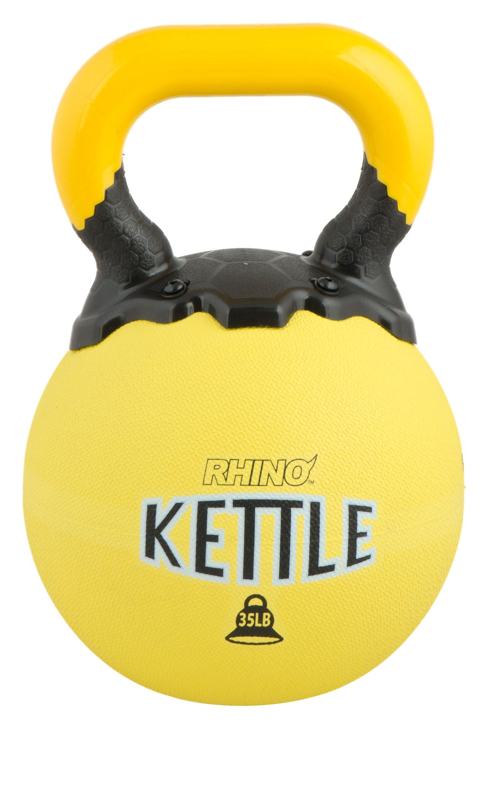 Champion Sports Rhino Kettle Bell Weights, 35-Pound