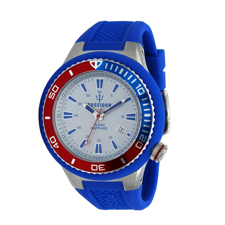 Poseidon By Kienzle Up00514Amazon Armband Uhr Silikon Analog Mit dCrQxWoeB
