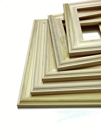 Amazon Bulk Unfinished Wood Picture Frames 16 X 20 Unfinished