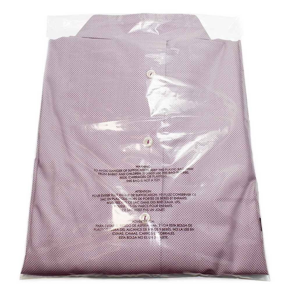 "Amazon.com: 100 Pieces Clear 9X12"" Poly bags With Suffocation Warning, Self Seal, THICK 1.57 mil, vent holes (9X12 Inches): Industrial & Scientific"