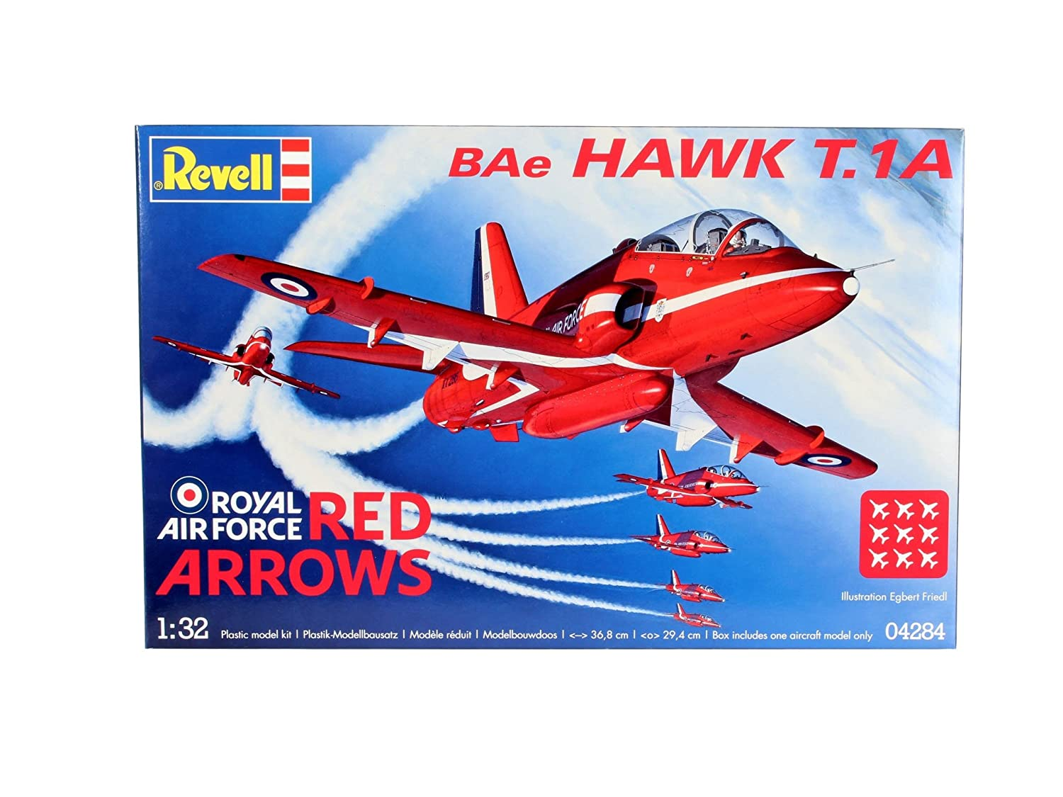 e85e106c21ac86 Revell 1 32 Scale Arrows Hawk (Red)  Amazon.co.uk  Toys   Games
