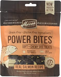 Merrick - Dog Power Bites Salmon Recipe 6/6oz