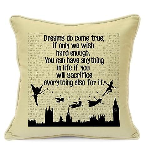 Vintage Peter Pan Disney Quotes fiesta de cumpleaños regalos ...