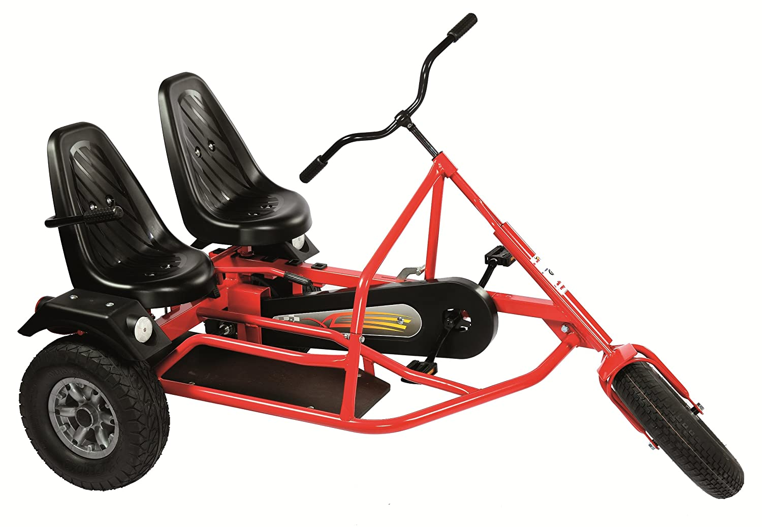 DINO Side Car ZF (5 years +) TWO SEATER PEDAL GO KART: Amazon co uk
