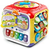 VTech Sort and Discover Activity Cube, Red