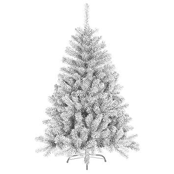 Weihnachtsbaum Plastik Weiß.180 Cm 930 Spitzen Künstlicher Weihnachtsbaum Tannenbaum Christbaum In Weiß Inkl Metallfuß Christbaumständer