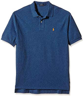 c62b103b9 Image Unavailable. Image not available for. Color: Polo Ralph Lauren Mens  Classic Fit Mesh Polo Shirt ...
