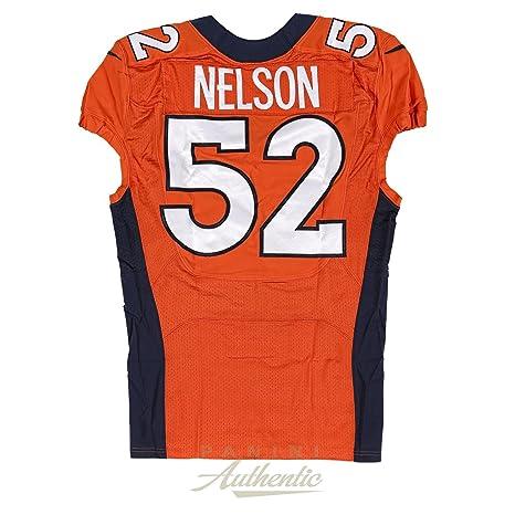 separation shoes cb4e5 5b61a Corey Nelson Game Worn Denver Broncos Jersey and Pant Set ...