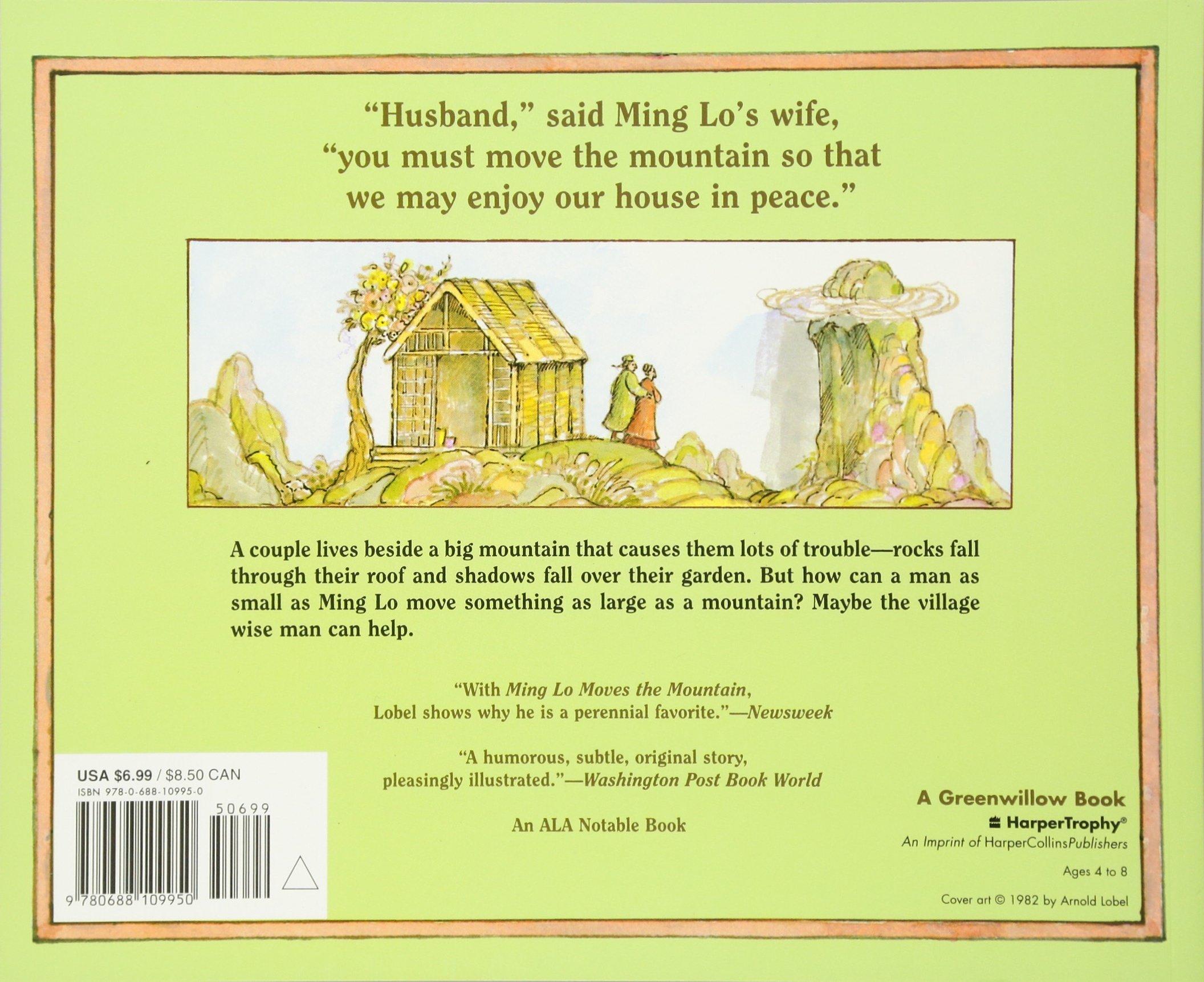 Ming Lo Moves The Mountain: Arnold Lobel: 9780688109950: Amazon: Books