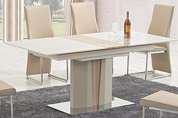 CARELLIA Mesa a Comedor diseño Extensible L: 150 ÷ 180 cm x ...
