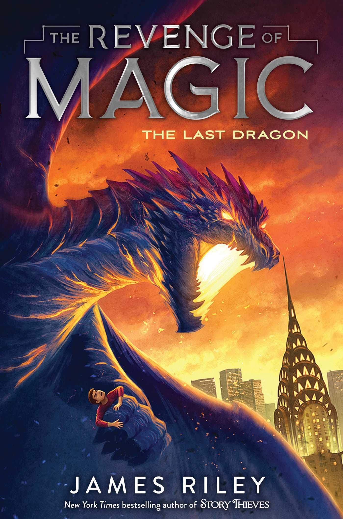 The Last Dragon (Revenge of Magic): Amazon.es: James Riley ...