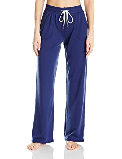 Tommy Hilfiger Womens Wide Leg Lounge Bottom Pajama Pant PJ