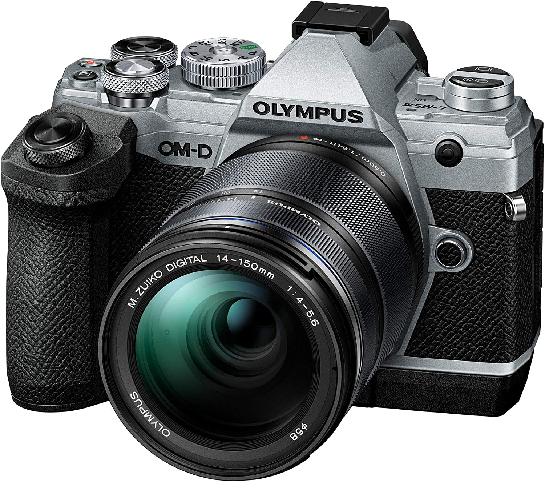 Olympus Ecg 5 Handgriff Für Om D E M5 Mark Iii Schwarz Kamera