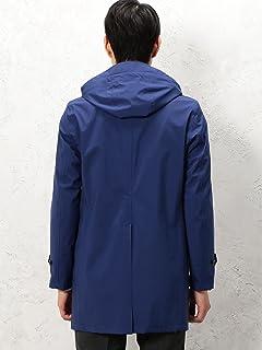 Gelanots Hooded Balmacaan Coat 3125-699-0407: Royal