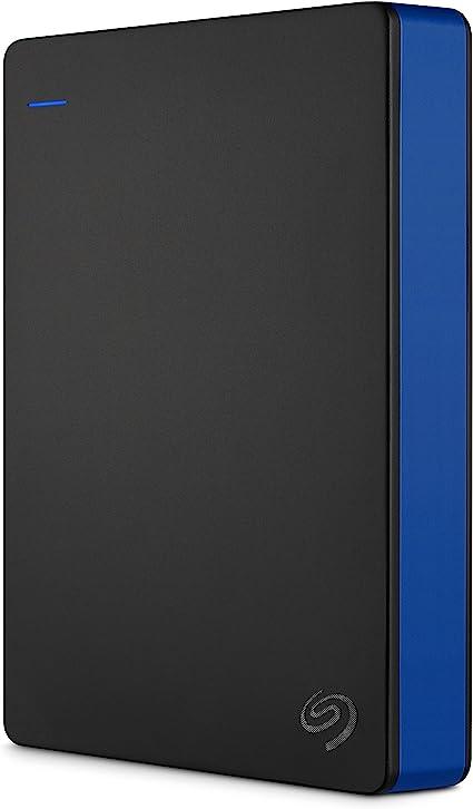 Seagate Game Drive, 4TB, Disco duro externo, HDD portátil, compatible con PS4 (STGD4000400): Seagate-Consumer: Amazon.es: Informática