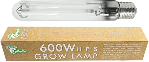 Hydro Crunch 600-Watt High Pressure Sodium HPS Grow Light Bulb Lamp