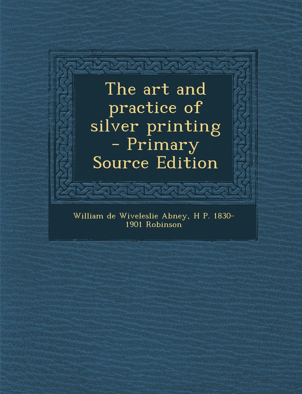 The art and practice of silver printing ebook