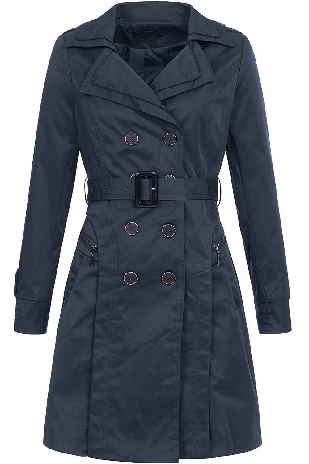 Peak Time Damen Übergangs-Jacke Mantel Trenchcoat F327TR