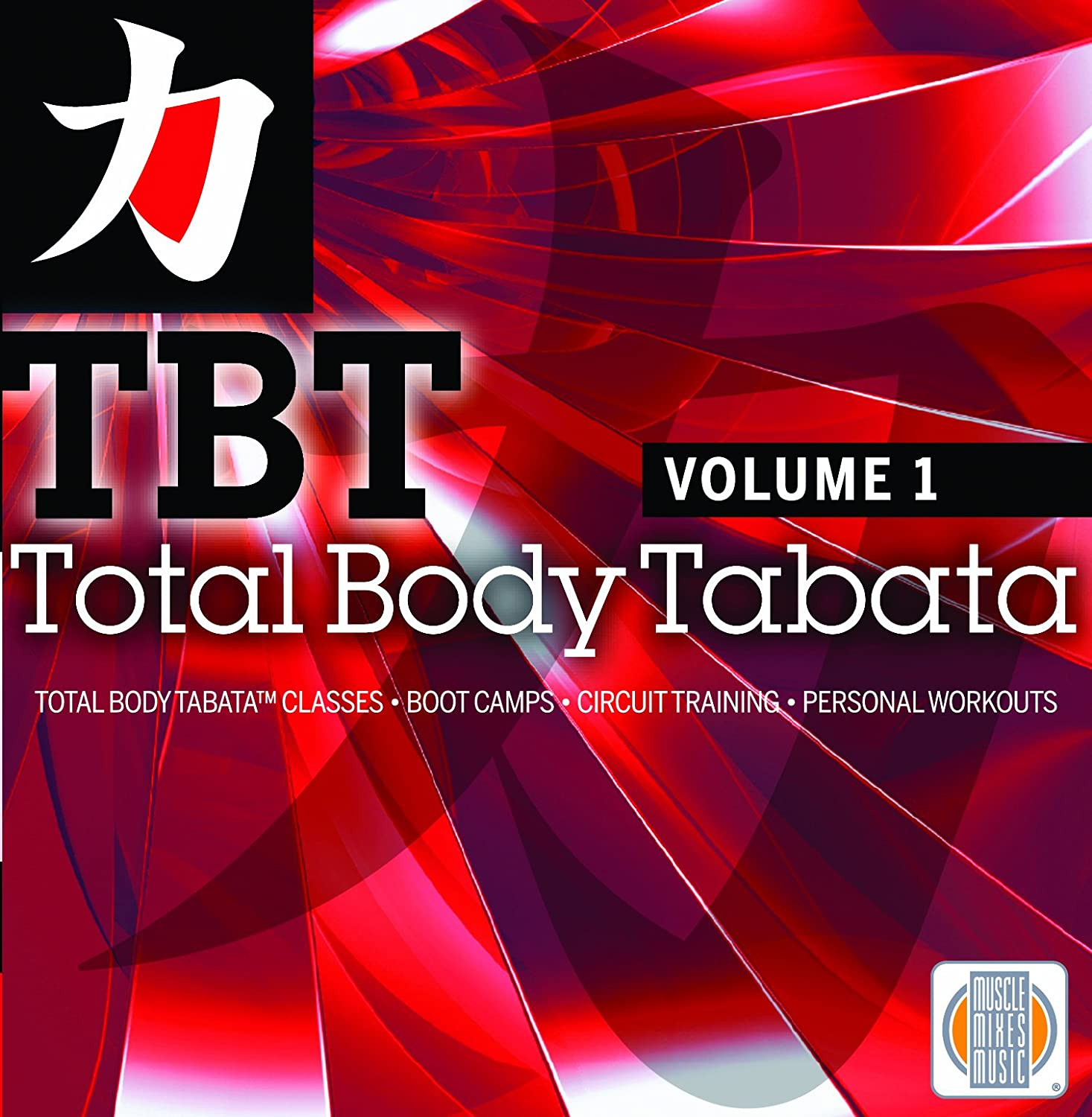 Muscle Mixes Music Total Body Tabata Vol 1 No Timer Needed Workouts Timers For Hiit And Circuit Training Are Included