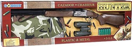 Fabricado en España,Juguete de metal de alta calidad,Utiliza fulminantes de 1 disparo,Fulminantes no