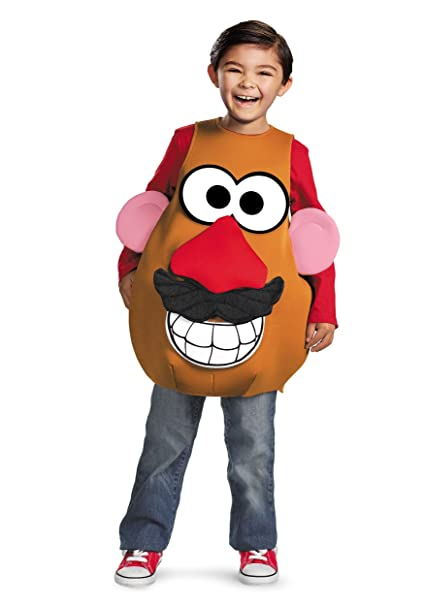 Child Mrsmr Potato Head Costume