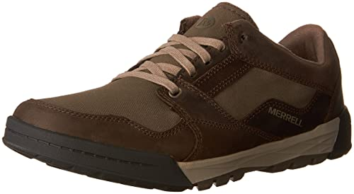 Mens Berner Shift Lace Low-Top Sneakers, US Merrell